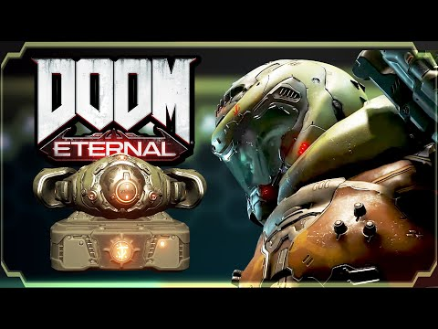 DOOM Eternal - Levels 7, 8 and 9: Secrets & Collectibles