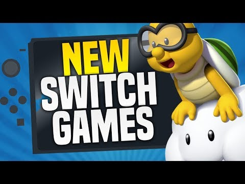 TONS of NEW Switch Games JUST ANNOUNCED!