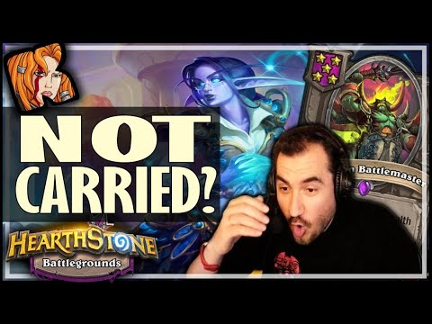 EVEN BATTLEMASTER COULDN'T CARRY?! - Hearthstone Battlegrounds
