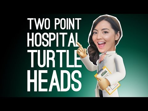Two Point Hospital Stream! WE CURE TURTLE HEAD (Two Point Hospital on Xbox One)