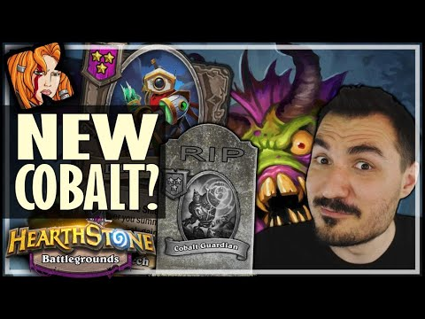RIP COBALT? MEET VERSION 2.0! - Hearthstone Battlegrounds