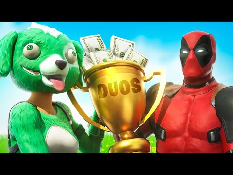 Duo Cash Cup Tournament!! (Fortnite Battle Royale)