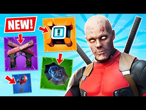 NEW UPDATE!! Crash Pad and Kingsman Umbrella Gameplay! (Fortnite Battle Royale)