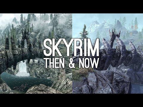 Elder Scrolls Online Skyrim: 7 Skyrim Sights Then and Now (Original Skyrim vs ESO Greymoor)