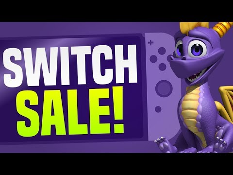BIG Nintendo Switch eShop Sale and MORE!