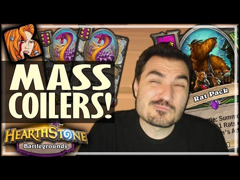 MASS GHASTCOILER BUILD?! - Hearthstone Battlegrounds