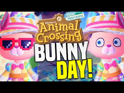 Bunny Day Event TIPS AND SECRETS! How To Get MAX Eggs and Recipes in Animal Crossing New Horizons!