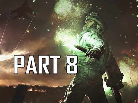 Call of Duty Modern Warfare 2 Remastered Walkthrough Gameplay Part 8 - Second Sun
