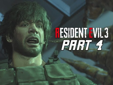 RESIDENT EVIL 3 REMAKE Walkthrough Part 4 - Vaccine (RE3 PC Gameplay)