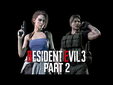 RESIDENT EVIL 3 REMAKE Gameplay Walkthrough Part 2 - CLASSIC JILL OUTFIT (Full Game)