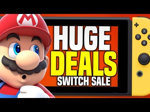 EPIC Nintendo Switch eShop SPRING SALE RIGHT NOW!