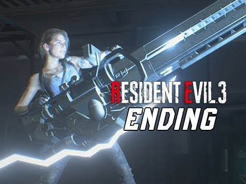 ENDING + FINAL BOSS - RESIDENT EVIL 3 REMAKE Walkthrough Part 8 - (RE3 PC Gameplay)