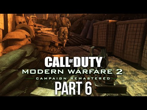 CALL OF DUTY MODERN WARFARE 2 REMASTERED Gameplay Walkthrough Part 6 - Of Their Own Accord