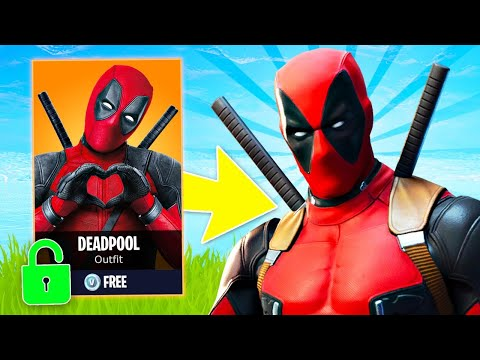 New DEADPOOL EVENT and DEADPOOL SKIN UNLOCK! (Fortnite Battle Royale)