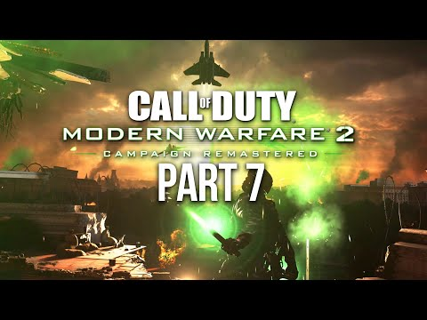 CALL OF DUTY MODERN WARFARE 2 REMASTERED Gameplay Walkthrough Part 7 - Second Sun & Whiskey Hotel