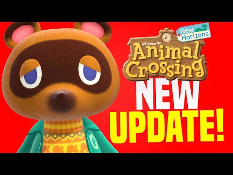 SECRET PHONE APP?! New Animal Crossing Switch Update 1.1.3! (New Horizons Tips)