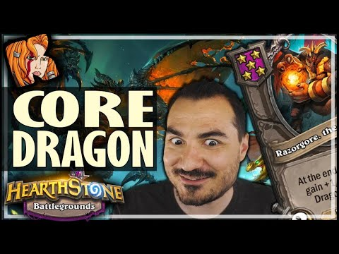 GET RAZORGORE = COMMIT DRAGONS?! - Hearthstone Battlegrounds