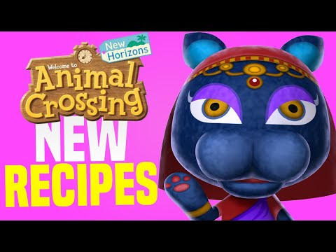 New LIMITED Recipes in Animal Crossing New Horizons! (New Horizons Tips)