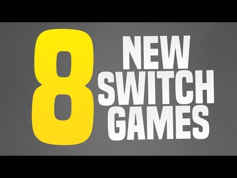 8 NEW SWITCH GAMES Just ANNOUNCED!