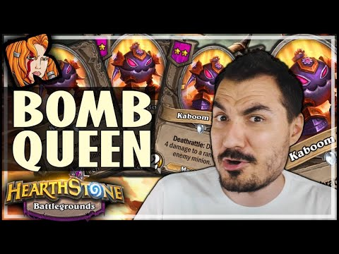 ALEXSTRASZA THE BOMB QUEEN?! - Hearthstone Battlegrounds