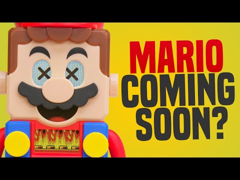 LEGO Super Mario PRICE + DATE! 35th Merch Revealed, Are Mario Switch Games Coming Soon?