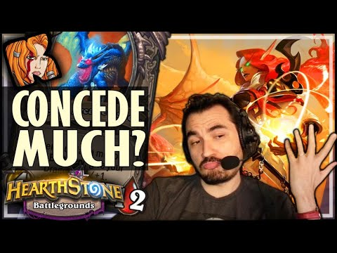 FINAL ROUND = CONCEDE?? - Hearthstone Battlegrounds