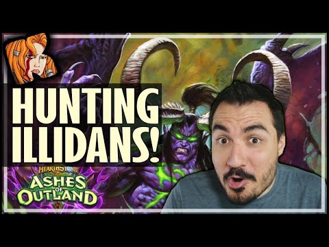 THE DEMON HUNTER HUNTER - Ashes of Outland Hearthstone