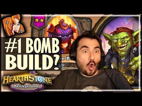 #1 BOMB BUILD EVER?! - Hearthstone Battlegrounds