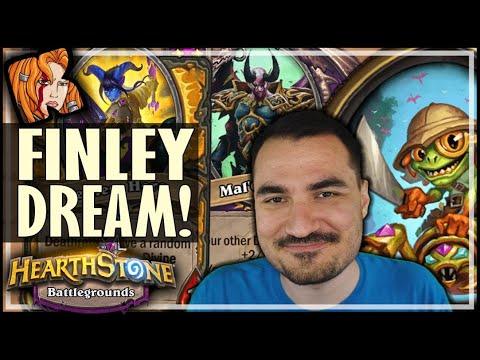 MY 100% DREAM FINLEY RUN! - Hearthstone Battlegrounds