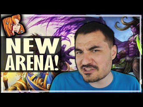 MY FIRST ARENA GAME THIS XPAC - Ashes of Outland Hearthstone