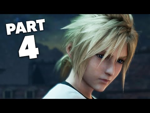 FINAL FANTASY 7 REMAKE PS4 Gameplay Walkthrough Part 4 - MAD DASH Chapter 4 (Full Game)