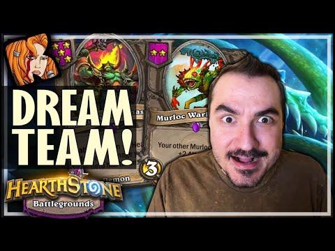 BATTLEMASTER + MURLOCS = DREAM TEAM! - Hearthstone Battlegrounds