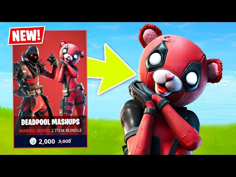 New DEADPOOL EVENT Skins! (Fortnite Battle Royale)