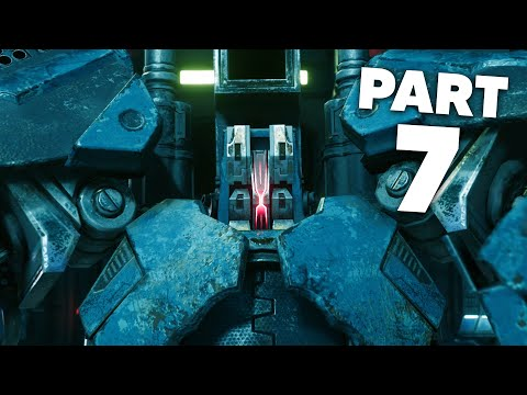 FINAL FANTASY 7 REMAKE PS4 Gameplay Walkthrough Part 7 - Chapter 7 AIRBUSTER (Full Game)