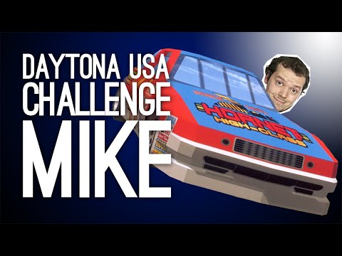 Daytona USA Live: Challenge Mike At His Favourite Racing Game #WithMe