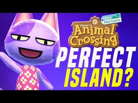 MUST SEE Animal Crossing 5 Star Island Tour... PERFECT Resort in New Horizons!?