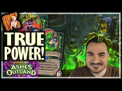 BEHOLD! TRUE POWER!!! - Ashes of Outland Hearthstone