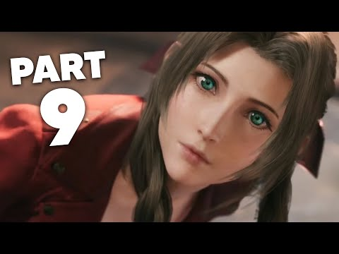 FINAL FANTASY 7 REMAKE PS4 Gameplay Walkthrough Part 9 - HELPING SECTOR 5 (Full Game)