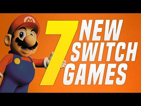 7 JUST ANNOUNCED New Switch Games coming to Nintendo eShop!