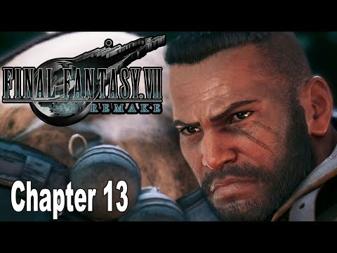 Final Fantasy VII Remake - Chapter 13: A Broken World Walkthrough [HD 1080P]