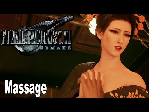Final Fantasy VII Remake - Luxury Course Hand Massage [HD 1080P]