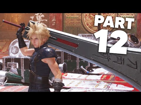 FINAL FANTASY 7 REMAKE PS4 Gameplay Walkthrough Part 12 - CONCERO COLOSSEUM (Full Game)