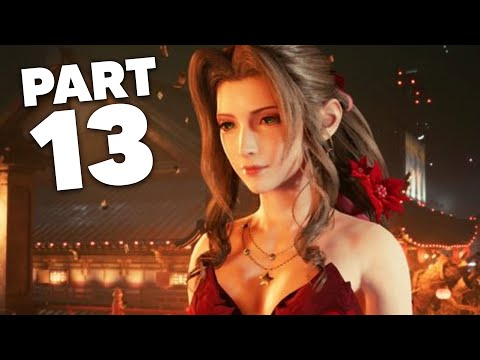 FINAL FANTASY 7 REMAKE PS4 Gameplay Walkthrough Part 13 - AERITH AND RED DRESS (Full Game)