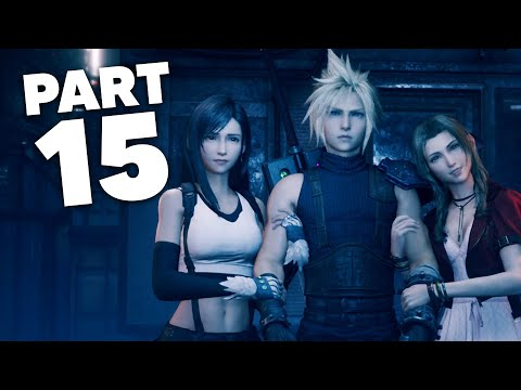 FINAL FANTASY 7 REMAKE PS4 Gameplay Walkthrough Part 15 - CHAPTER 11 HAUNTED (Full Game)