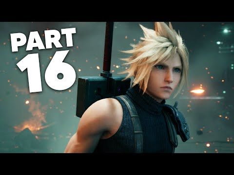 FINAL FANTASY 7 REMAKE PS4 Gameplay Walkthrough Part 16 - CHAPTER 12 (Full Game)