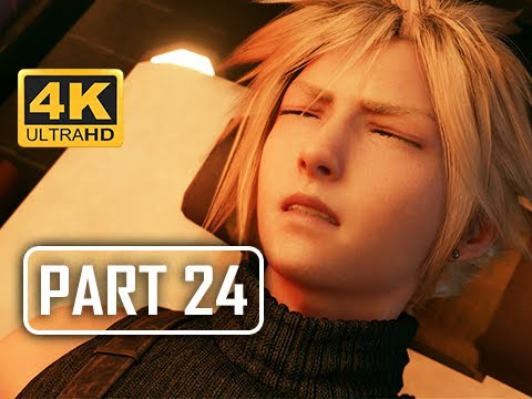 Massage Parlor - FINAL FANTASY 7 REMAKE Walkthrough Part 24 (4K PS4 Pro Gameplay)