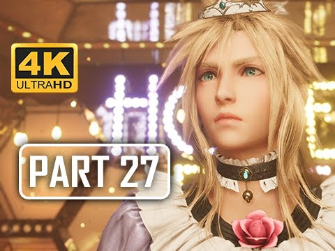 LADY CLOUD - FINAL FANTASY 7 REMAKE Walkthrough Part 24 (4K PS4 Pro Gameplay)