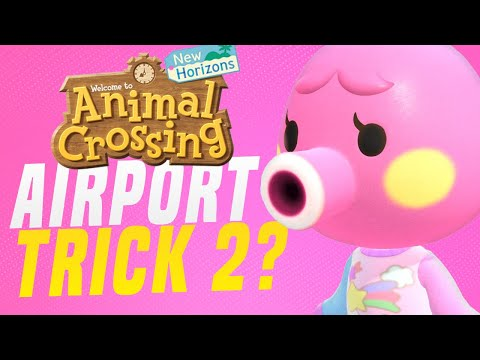 HOW To Get RARE Animal Crossing Villagers & Islands - NEW AIRPORT TRICK! (Animal Crossing Tips)