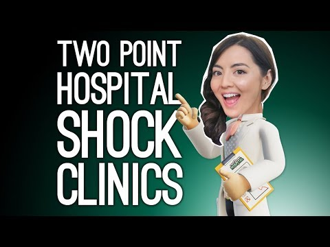 Two Point Hospital Gameplay: SHOCK CLINIC! (Two Point Hospital on Xbox One)