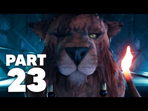 FINAL FANTASY 7 REMAKE PS4 Gameplay Walkthrough Part 23 - RED XIII (Full Game)